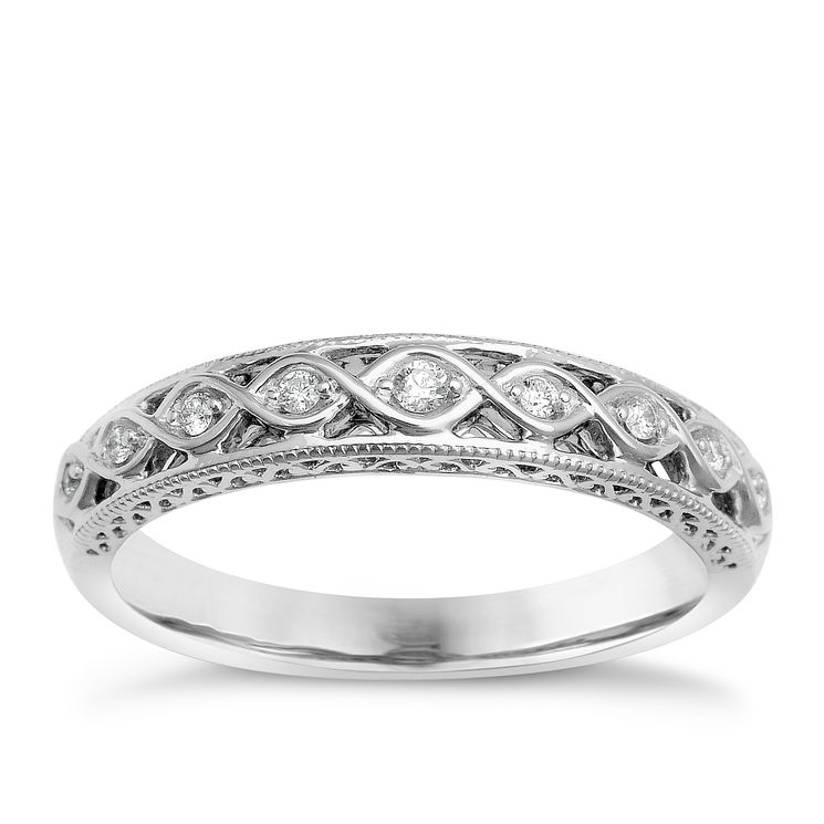 Perfect Fit Signature Signature 9ct White Gold Eternity Ring - Product number 1391275