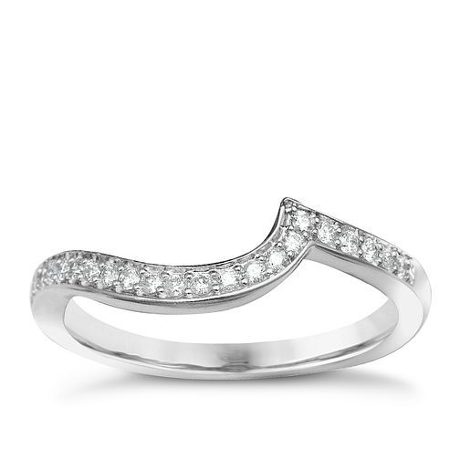 9ct White Gold Diamond Perfect Fit Eternity Ring - Product number 1391402