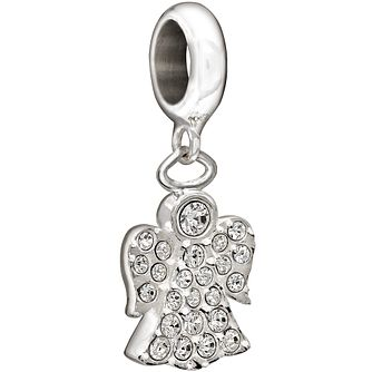 Chamilia Sterling Silver Hanging Angel Charm - Product number 1396722