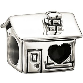 Chamilia Sterling Silver Home Is Where The Heart Is Charm - Product number 1396773
