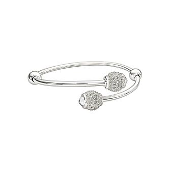 Chamilia Sterling Silver Pave Set Crystal Bangle End - Product number 1396935