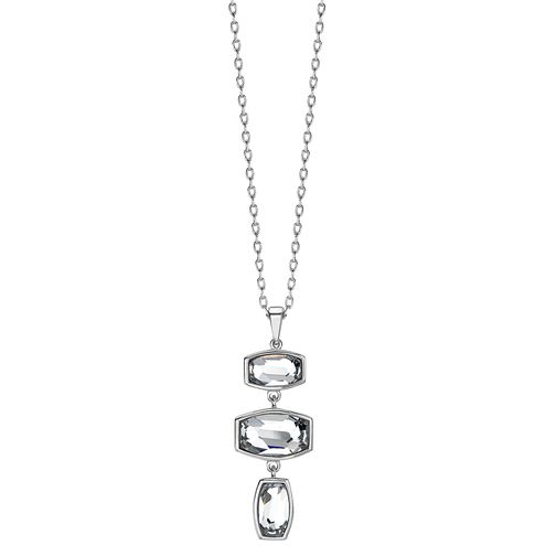 Radiance With Swarovski Crystal Elements Three Stone Pendant - Product number 1403060