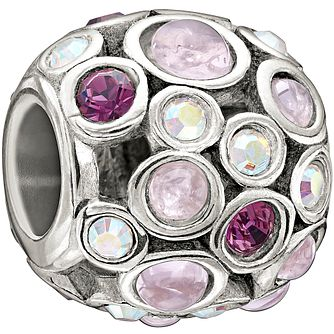 Chamilia Captivate purple with Swarovski crystal charm - Product number 1404768