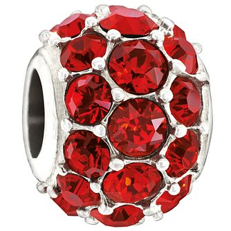 Chamilia Splendour red with Swarovski crystal elements bead - Product number 1404857