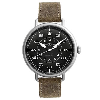 Bell & Ross Vintage WW1 men's stainless steel strap watch - Product number 1407651