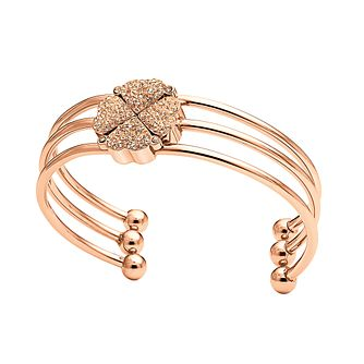 Folli Follie Heart4Heart rose gold-plated crystal bracelet - Product number 1413716