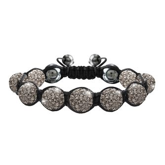 Crystalla Grey Crystal Bead Bracelet - Product number 1416650