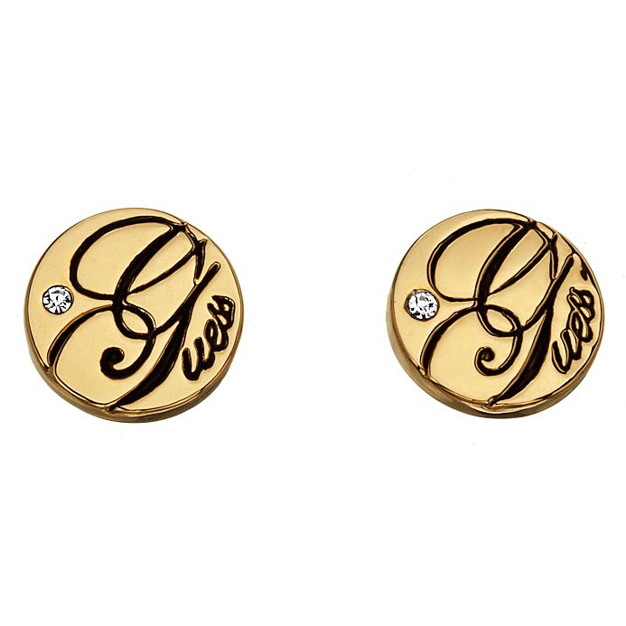 Guess Gold-Plated Micro Dot Earrings - Product number 1417576