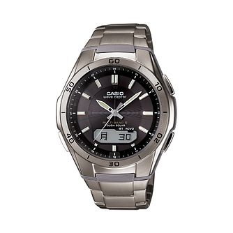 Casio Men's Radio Controlled Bracelet Watch - Product number 1430130