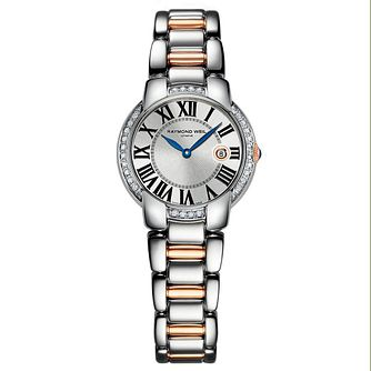 Raymond Weil Jasmine ladies' two colour bracelet watch - Product number 1432907