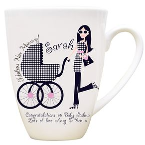 Personalised Fabulous New Mummy Mug - Product number 1434608