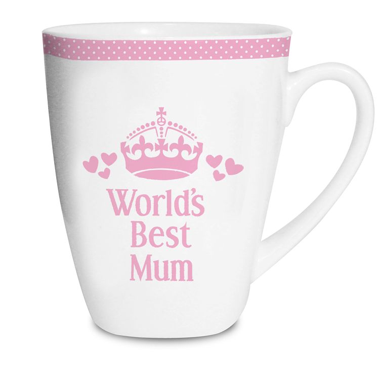 Personalised Pink World's Best Mug - Product number 1434683