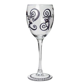 Personalised Fabulous Numbers Wine Glass - Product number 1434713