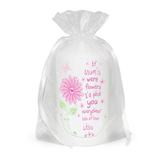 Personalised Floral I'd Pick You Candle - Product number 1434853