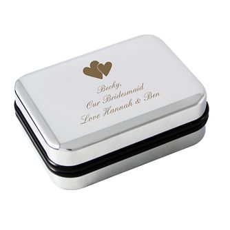 Engraved Hearts Pendant Box - Product number 1435019