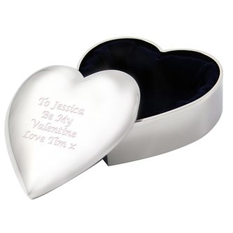 Engraved Heart Trinket Box - Product number 1435094