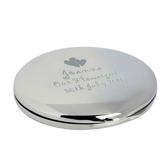 Engraved Hearts Round Compact - Product number 1435175