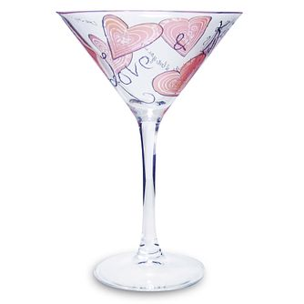Personalised Love And Kisses Cocktail Glass - Product number 1437712
