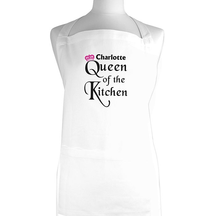 Personalised Queen of the Kitchen Apron - Product number 1437968