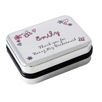 Personalised Floral Butterfly Pendant Box - Product number 1437976