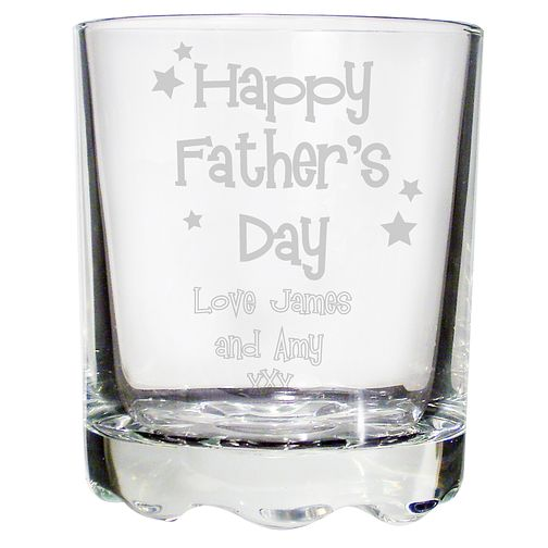 Engraved Stern Whisky Glass - Product number 1439405