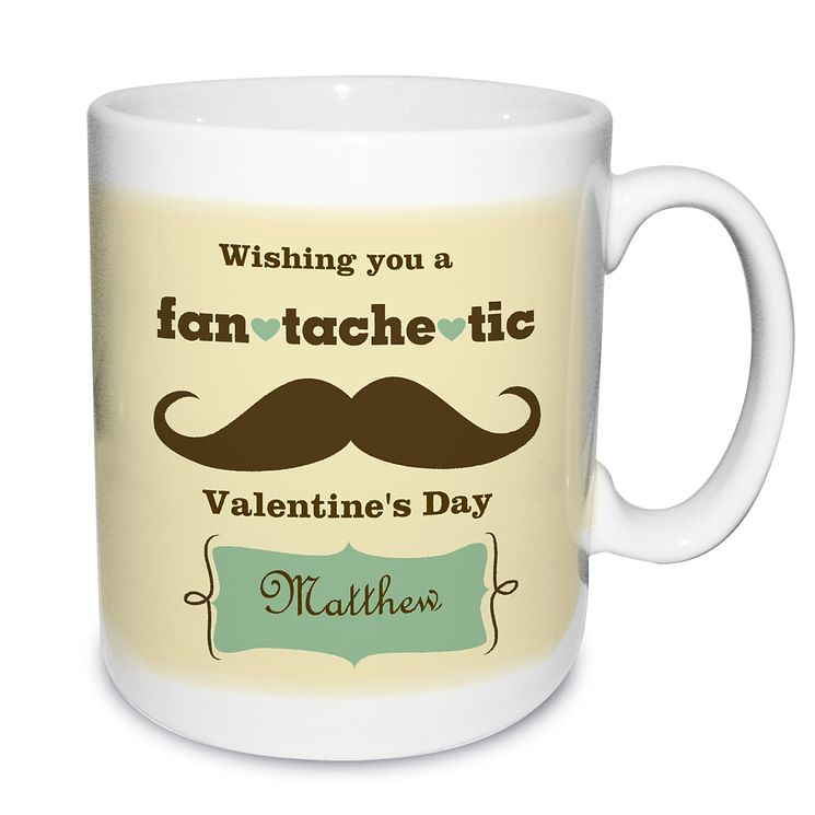 Personalised Fan Tache Tic Mug - Product number 1439553