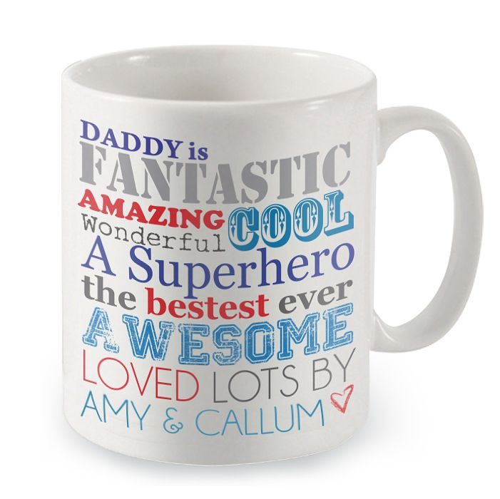 Personalised He Is Mug - Product number 1439561