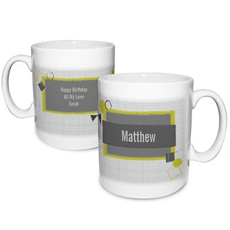Personalised Retro Design Mug - Product number 1439588