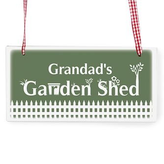 Personalised Garden Hanging Plaque - Product number 1439693