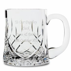 Engraved Half Pint Glass Tankard - Product number 1440918