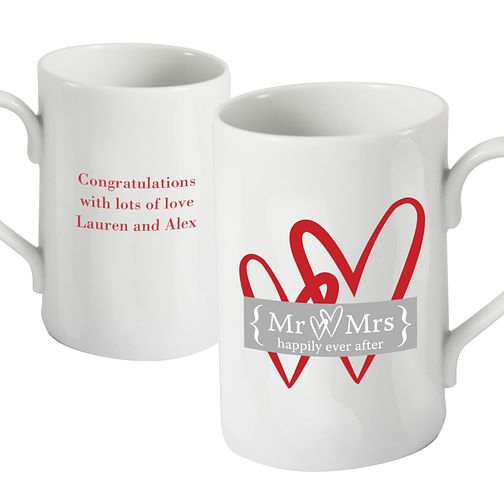 Personalised Ruby Heart Mug - Product number 1441485