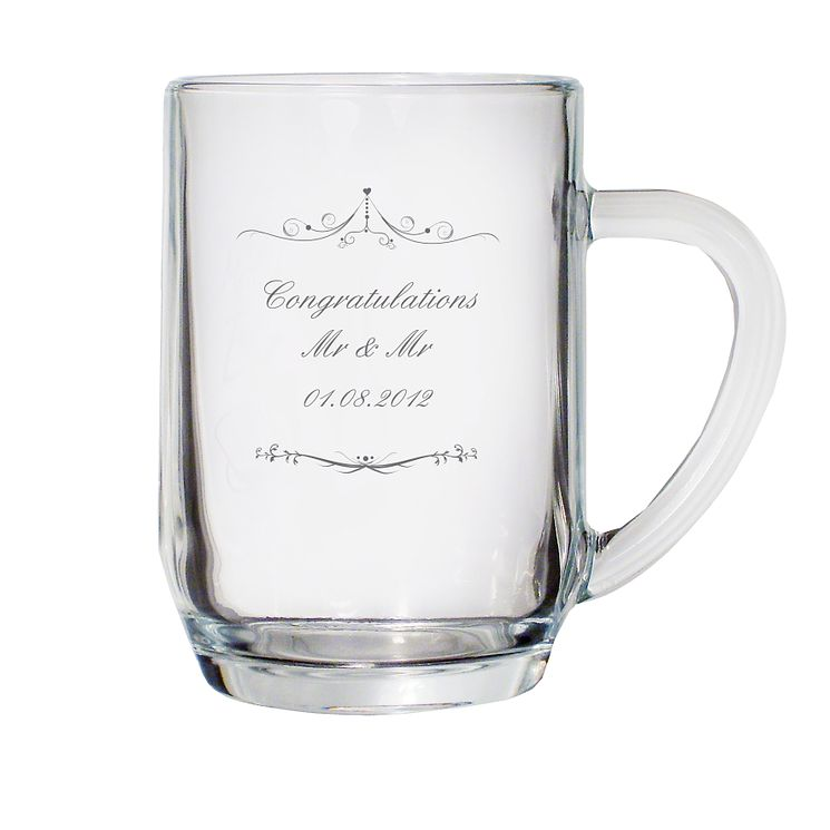 Personalised Ornate Swirl Tankard - Product number 1441515