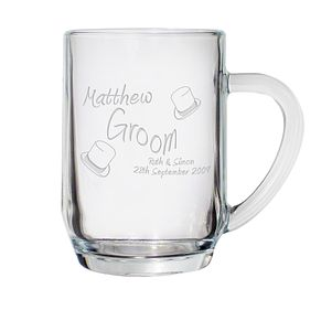Engraved Elegance Tankard - Product number 1441760