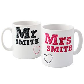 Personalised Mr And Mrs Mug Set - Product number 1442376