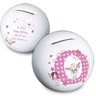 Personalised Fairy Letter Money box - Product number 1444565