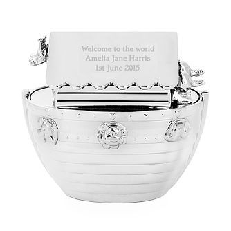 Engraved Noah's Ark Money Box - Product number 1445553