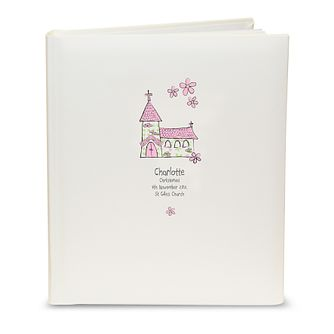 Personalised Whimsical Pink Church Album - Product number 1445693