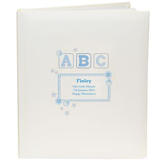 Personalised Blue ABC Photograph Album - Product number 1445758