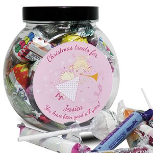 Personalised Angel Sweet Jar - Product number 1446231