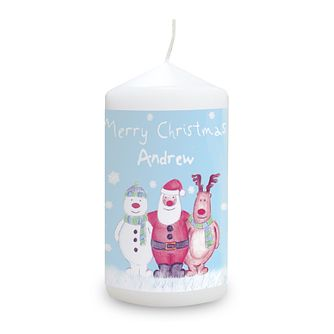 Personalised Snow Scene Candle - Product number 1446878