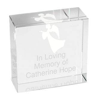 Personalised Angel Crystal Token - Product number 1447319