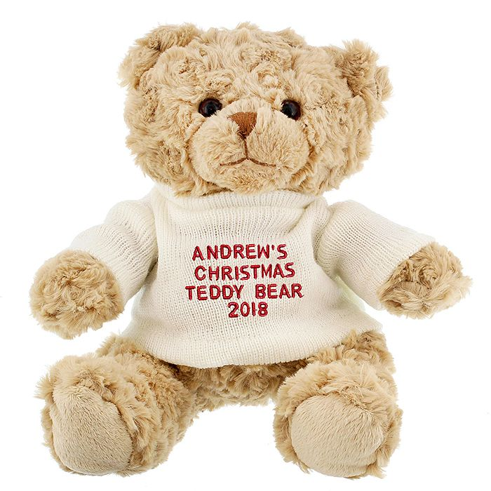 Personalised Christmas Teddy - Product number 1447386