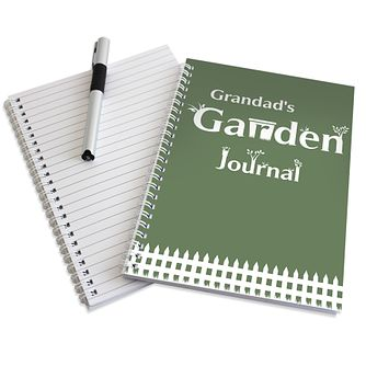 Personalised Garden Journal - Product number 1447858