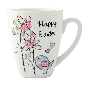Personalised Daffodil And Floral Easter Chick Mug - Product number 1448021