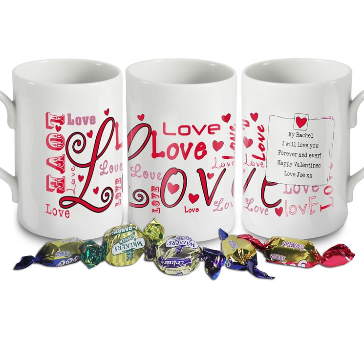 Personalised Lots Of Love Mug - Product number 1448080