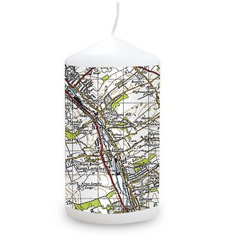 Personalised 1945 - 1948 New Popular Map Candle - Product number 1448463