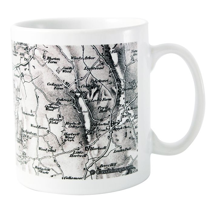 1805 - 1874 Old Series Map Mug - Product number 1448544