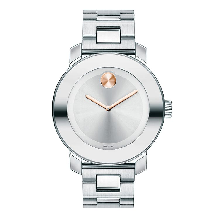 Movado Bold ladies' stainless steel silver bracelet watch - Product number 1452339