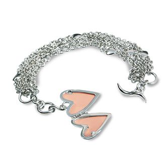 Hot Diamonds Sterling Silver Diamond Clamour Locket Bracelet - Product number 1455702