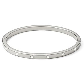 Fossil stainless steel stone set bangle - Product number 1478788